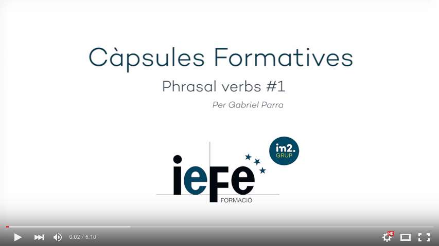 IEFE Càpsules Formatives