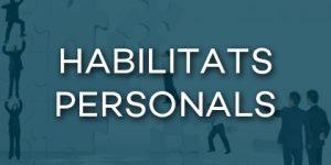Cursos habilitats personals